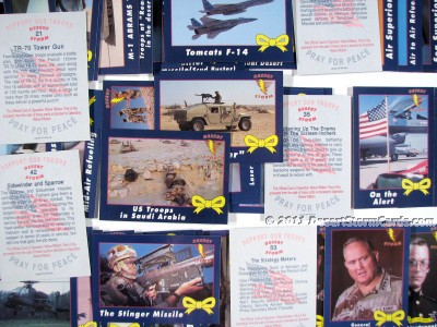 Link to info about AMA's Operation Yellow Ribbon trading cards
