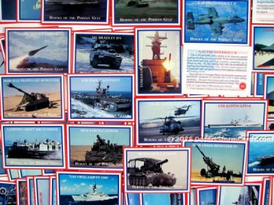 Link to info about Lime Rock's Heroes Of The Persian Gulf trading cards